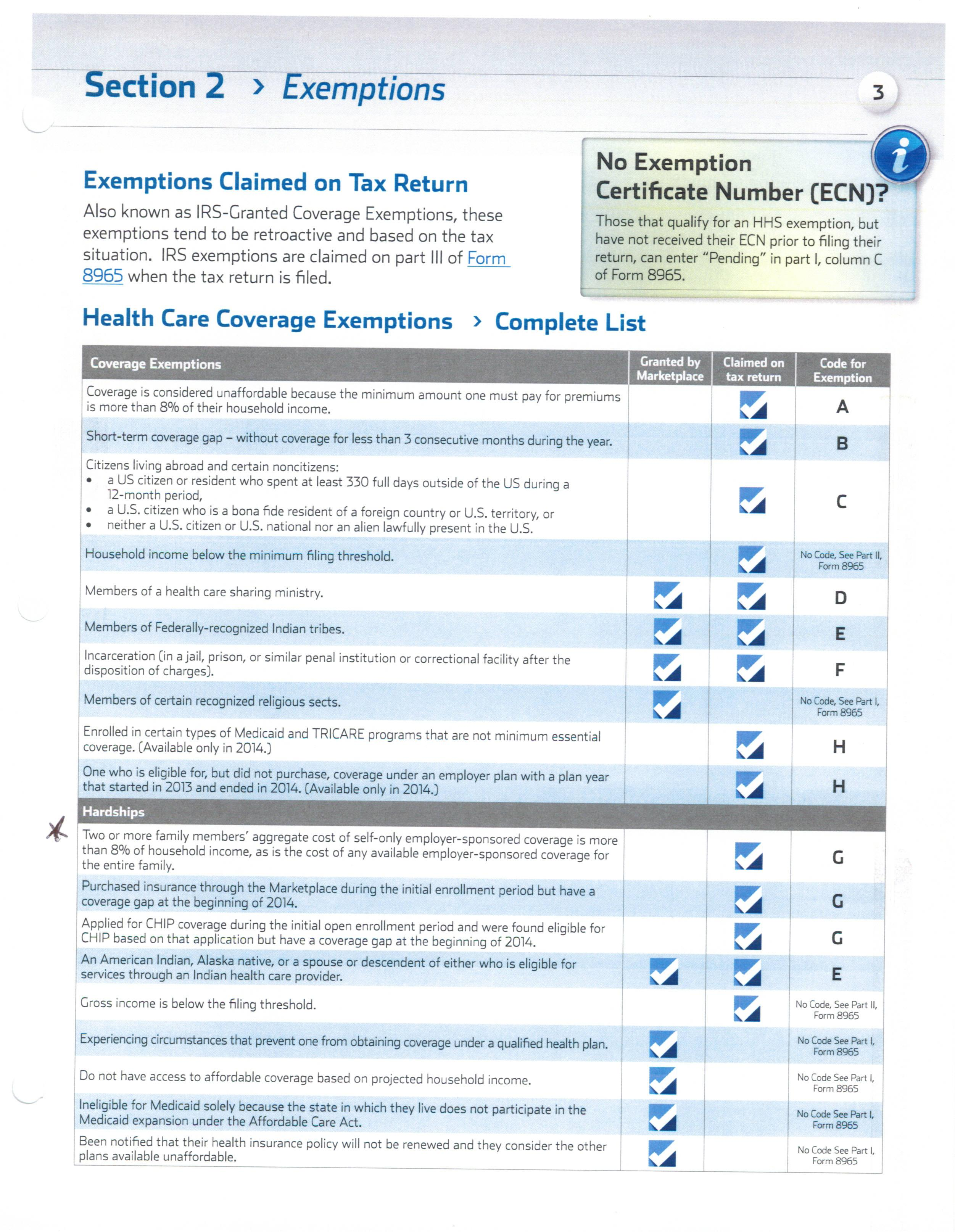 Information you need to know about the new healthcare law
